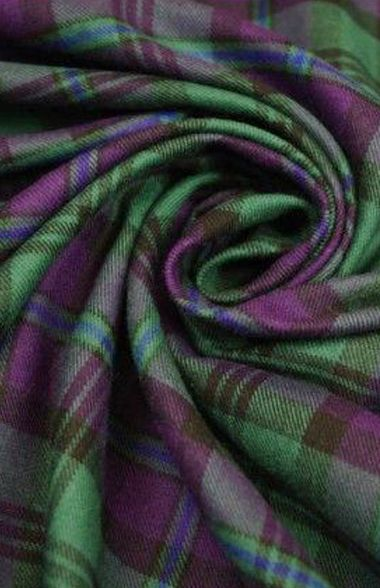 Green and Purple Tartan: