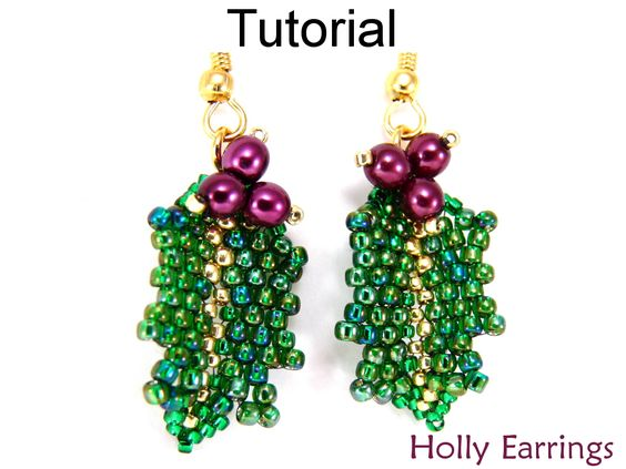 beadwork instructions russian leaves - Cerca con Google