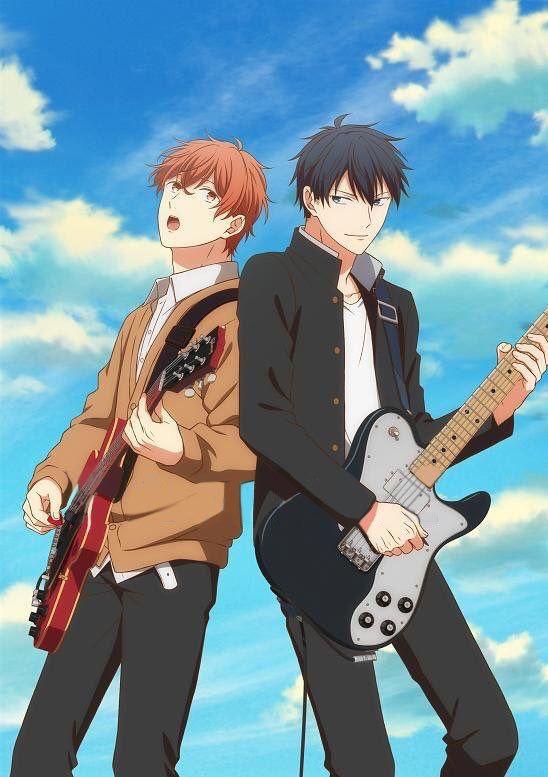 Uenoyama Ritsuka And Mafuyu Sato Guitar By Thedest16 On Deviantart Anime Guys Anime Anime Crossover