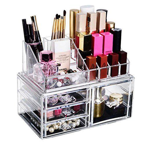 Drawer Type Cosmetic Storage Box Makeup Tools Finishing Box