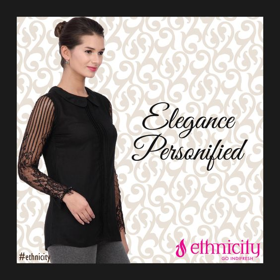 Elegant, elite, delicate, poise and this black topwear are synonyms. Aren't they? #ethnicity#indifresh#tradition#traditional#traditionalwear#traditionalday#shop#shopping#shopaholic#elegance