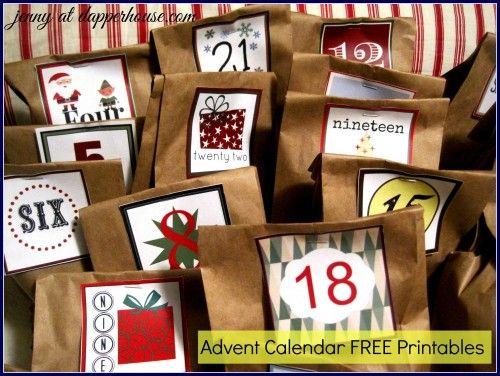 diy boys advent calendar ideas and free printables. Black Bedroom Furniture Sets. Home Design Ideas