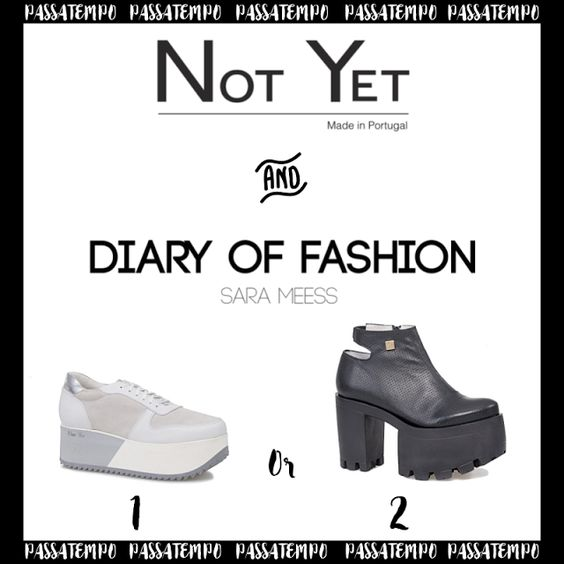 Amostras e Passatempos: Passatempo Not Yet Shoes by Diary of Fashion