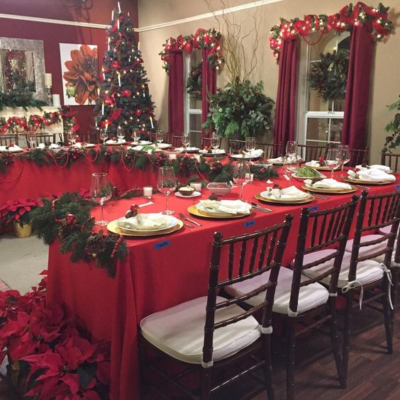 How about @CristinaCooks & @MarkSteines beautiful #Christmas table! @HomeandFamilyTV special airs 11/23!