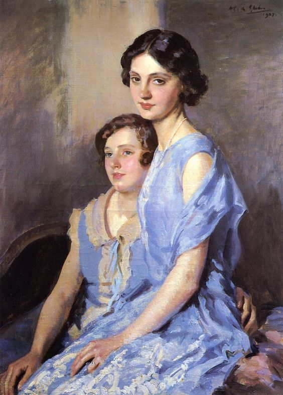 The Athenaeum - The Sisters (Wilfred Gabriel De Glehn - No dates listed)