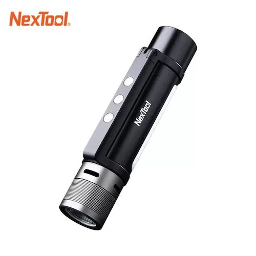 New Nextool 6 In 1 1000lm Dual Light Zoomable Alarm Flashlight Usb C Rechargeable Mobile Power Bank Camping Work Light Sale Price Reviews Gearbest In 2021 Flashlight Powerbank Work Lights