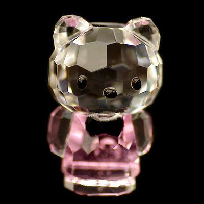 Mini cat pink #hello kitty austrian #crystal #figurine ornament sculpture rrp$79,  View more on the LINK: 	http://www.zeppy.io/product/gb/2/181929335400/