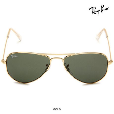 Ray-Ban Unisex Aviator Sunglasses & Case - Assorted Colors & Sizes at 58% Savings off Retail!