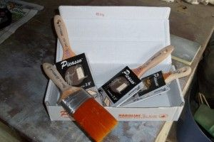 Proform Picasso brush of choice on mnay jobs for Adam Bermingham Traditional Painter Ireland