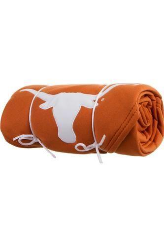 Texas Longhorn Sweatshirt Throw Blanket