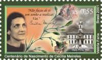 Cecília Meireles, brazilian writer (1901-1964)