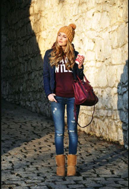 ¡Botas de otoño! Outfits con botas de otoño