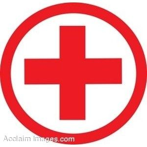 clip art of a medical symbolred cross polyvore tats