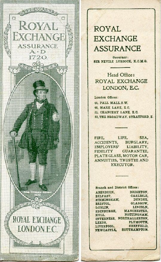 Royal Exchange Assurance Pall Mall Insurance Company Royal