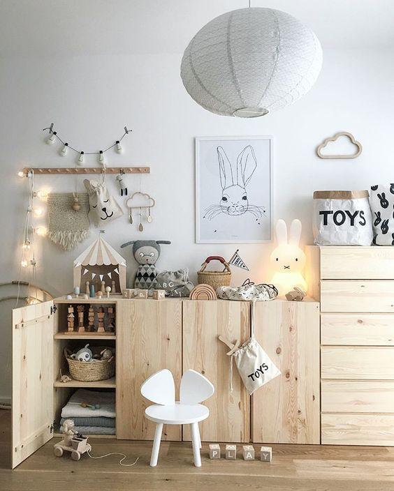 Idees Rangement Chambre D Enfant Style Scandinave Ikea Hacks