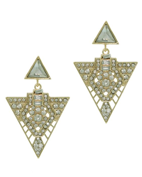 Our Accessory of the Week is our Geometric Clear Crystal Earrings. Perfect for adding sparkle to your November! http://www.pearlandbutler.co.uk/731-p/geometric-clear-crystal-earrings.aspx