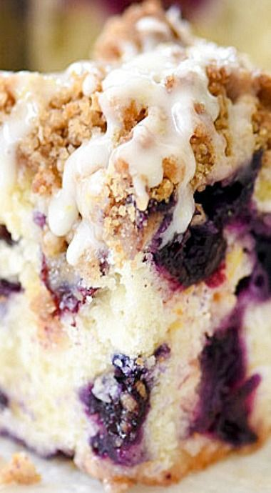 Blueberry buckle recipe, Blueberries and Recipes with lemon on ...