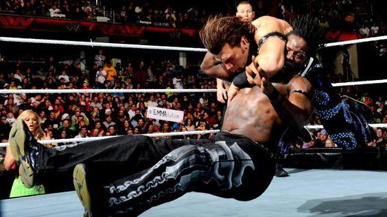 R-Truth vs. Fandango on #WWE #Raw