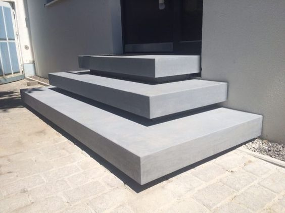 Betontreppen u2013 ein Blickfang im Haus Contemporary interior - betonplatten selber machen