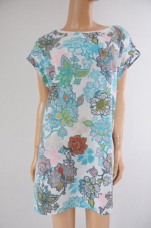 Next Tunika Kremowa Kwiaty Prosta 46 Vinted Casual Dress Dresses Fashion