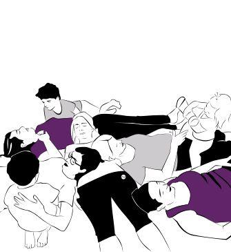 Chez 123 Yoga, Elodie vous propose des ateliers ludique de Yoga Parent-Enfant. Une sortie en famille originale à tester.