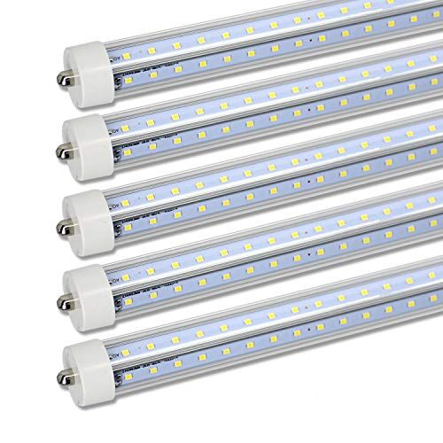8ft Led Tube Light Bulb Double Row V Shape Leds Single P Https Www Amazon Com Dp B0774n8kjt Ref Cm Sw R Pi Dp U X Cqtjcbst8ndev