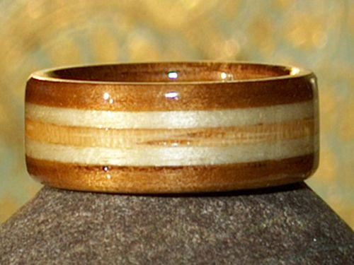 Unique Wooden Creations Wedding Rings
