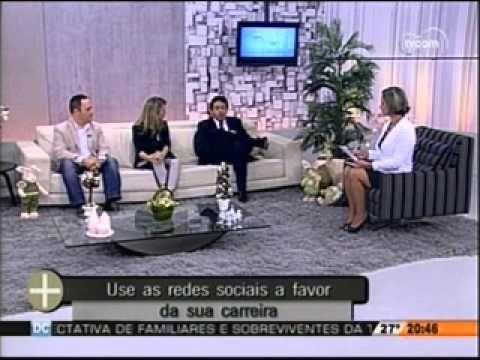 Redes sociais a favor da sua carreira - Carlos Eduardo Balcarse da Rede Desempregados - TVCOM