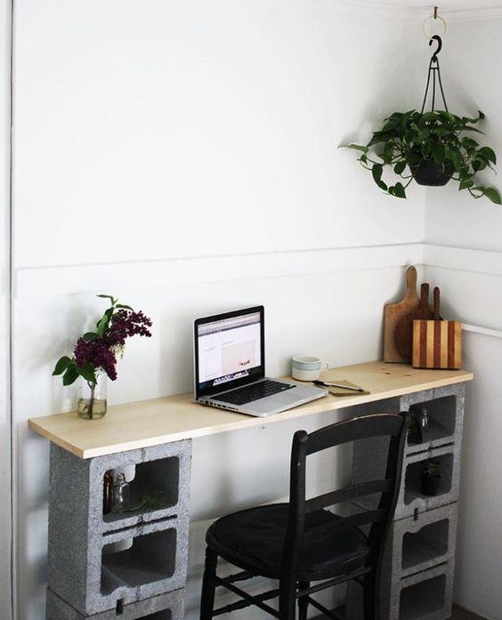Parpaing creux - comment en faire des meubles fonctionnels?