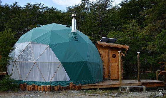 El Chaltén, provincia de Santa Cruz, Argentina | Mar 2016 Patagonia Eco Domes