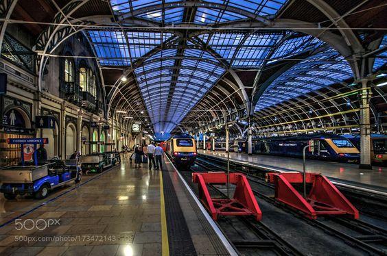 London Paddington Station by Fotoarte