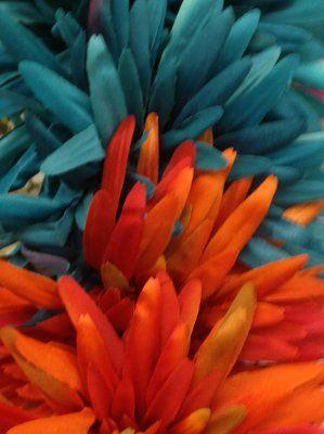 Teal And Burnt Orange Wedding 9 27 14 Pinterest