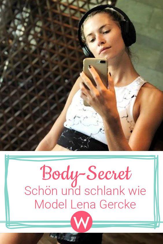 Lena Gercke Schon Und Schlank Wie Das Topmodel Lena Gercke
