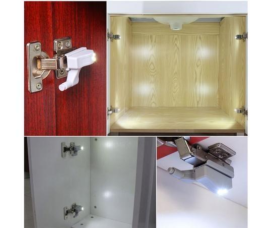 Automatic Cabinet Light Geekaget Cabinet Lighting Wardrobe Hinges Led Cabinet Lighting