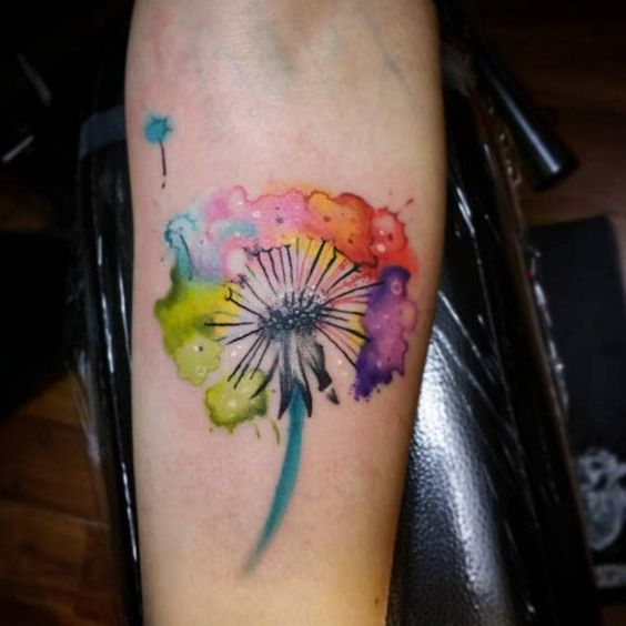 150 Most Enticing Dandelion Tattoos And Their Meanings awesome