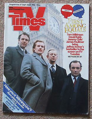 Tv times magazine 27th #september - 3rd #october 1986 - the #america's cup,  View more on the LINK: http://www.zeppy.io/product/gb/2/152041858031/