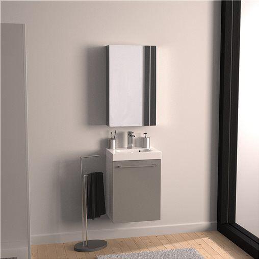 Epiplo Mpanioy Sensea Remix M46xb35 Cm Se Apoxrwsh Leyko Gyalistero Me 1 Porta Anoigomenh Creative Bathroom Design Bathroom Design Lighted Bathroom Mirror