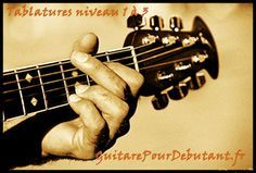 Tablature facile pour debutant guitare, tablature guitare , tablature facile , tab , partition ,