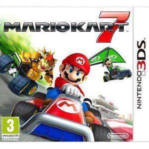 Mario Kart 7, promo jeux vidéo Priceminister pas cher, Mario Kart 7 sur Nintendo 3DS prix promo Priceminister 29.00 € TTC