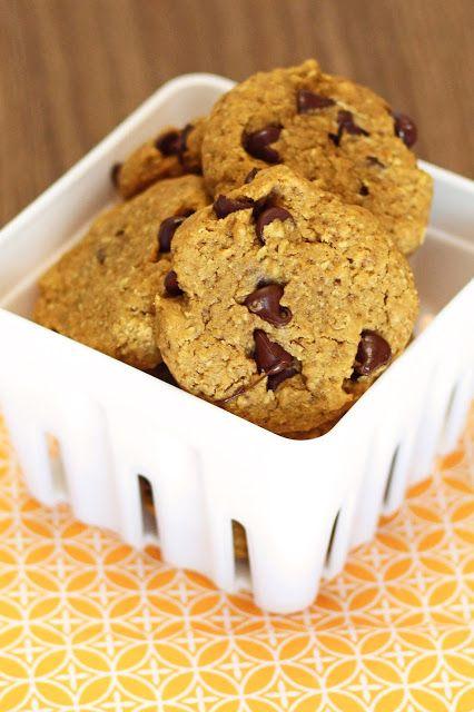 Gluten Free Vegan Pumpkin Chocolate Chip Cookies
