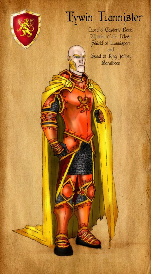 Tywin Lannister by ~serclegane on deviantART