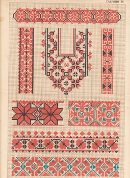 Ukrainian traditional folk embroidery(book)