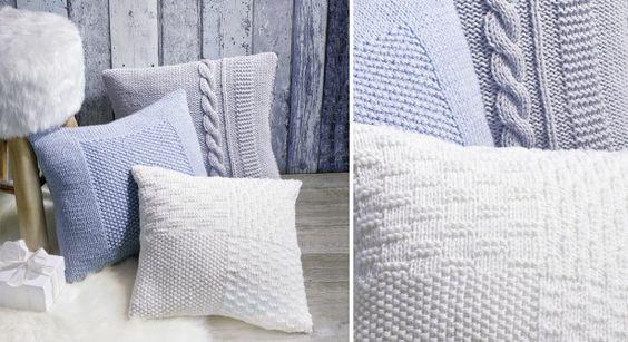 """Tricoter facilement une écharpe à volants grâce à la laine créative """"can"""
