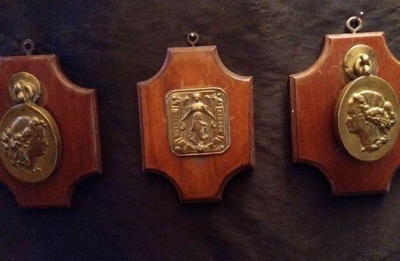 boucle de SOUS OFFICIER modèle 1845 HONNEUR PATRIE avec deux médaillons