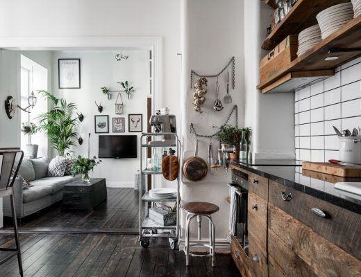 Super leuk klein appartement vol leuke ideeën - Interieur ...