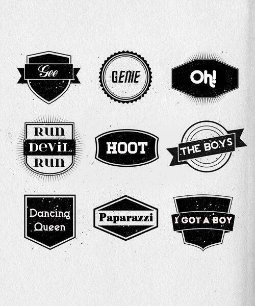 snsd girls generation logos snsd logos pinterest