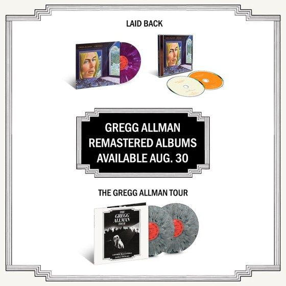 Gregg Allman S Debut Solo Album 1974 Live Set Being Reissued Best Classic Bands Greggs Rhythm And Blues Allman Brothers Band