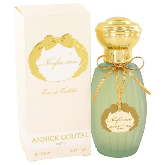 Ninfeo Mio by Annick Goutal Eau De Toilette Spray 3.4 oz. Launched in 2010 Ninfeo Mio was created by Annick Goutal with perfumers Isabelle Doyen and Camile Goutal. Inspired by mythological gardens in Greece known as the Hesperides. An intensely green citrus perfume with a touch of fig and woods, it is suitable for men and women. It has top notes of verbena, Italian lemon and galbanum.  The middle notes are better orange, lavender and pistachio leaf.  The base notes complete this unique…