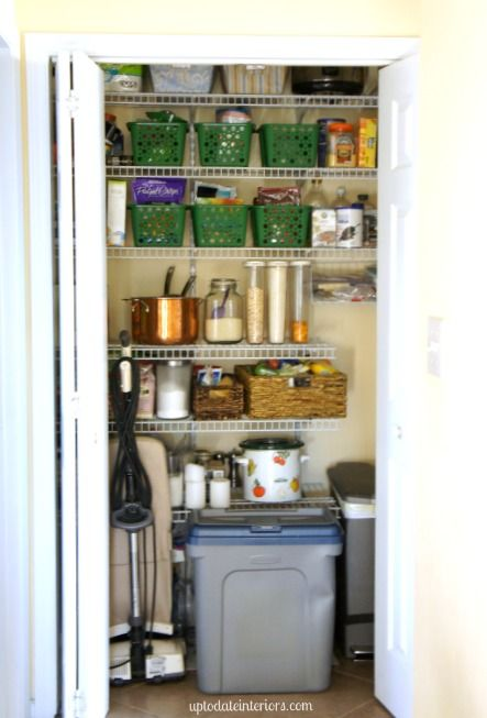 Love Your Space Challenge: Organize your pantry. Different options/steps to getting your pantry more functional and organized even if you only have 20 minutes..