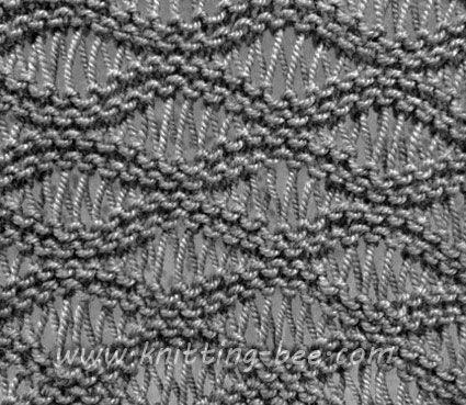 Stitches, Yarns and Stitch patterns on Pinterest